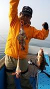 5月3日午前テンヤ真鯛船 釣果