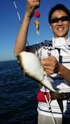7月22日 「フグ」 リレー 午前船 釣果