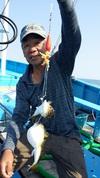 7月31日 フグ船 釣果