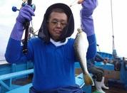 8月15日 フグ釣り 午前船 釣果