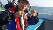 9月13日 河豚 釣果