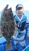 12月1日 ヒラメ船 釣果
