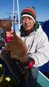 12月9日 ヒラメ船 釣果