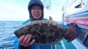 12月25日 ヒラメ船 釣果