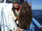 1月8日 ヒラメ船 釣果