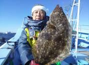 1月9日 ヒラメ船 釣果