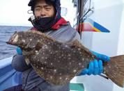 1月21日 ヒラメ船 釣果