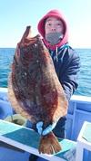 2月10日 ヒラメ船 釣果