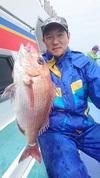 4月23日 活きエビ・テンヤ真鯛船 釣果
