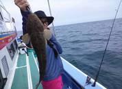 6月12日 午後マゴチ船 釣果