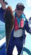 6月3日 午前マゴチ船 釣果