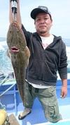6月12日 午前テンヤ真鯛&マゴチ船 釣果