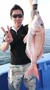 6月26日 午後テンヤ真鯛船 釣果