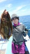 7月10日 午前テンヤ真鯛船 釣果
