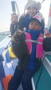 11月6日 ヒラメ船 釣果 5kg浮上!