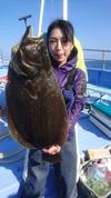 11月13日 ヒラメ船 釣果