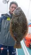 11月27日 ヒラメ釣り大会 釣果