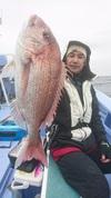 11月27日 午後テンヤ真鯛船 釣果