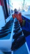 12月2日 ヒラメ船 釣果 絶好調!