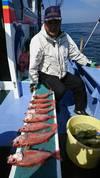 10月9日 アカムツ船 釣果