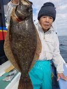 12月22日 ヒラメ船 釣果