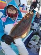 1月7日 ヒラメ船 釣果