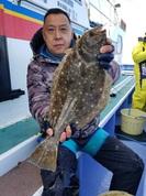 1月30日 ヒラメ船 釣果