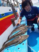 8月5日 マゴチ船 釣果