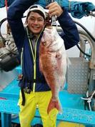 10月6日 テンヤ真鯛船 釣果