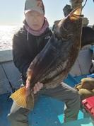 11月23日 ヒラメ船 釣果