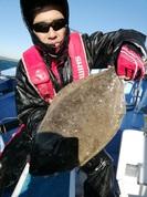 12月14日 ヒラメ船 釣果