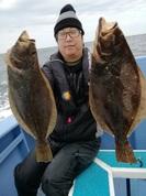 12月23日 ヒラメ船 釣果