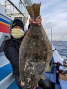 1月12日 ヒラメ船 釣果