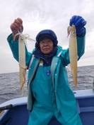 2月13日 ヤリイカ船 釣果