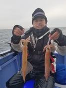 2月19日 ヤリイカ船 釣果 浅場で好調!!