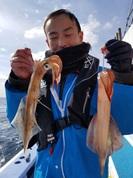 2月22日 ヤリイカ船 釣果 好調続き!!
