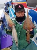 2月25日 ヤリイカ船 釣果