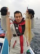 3月3日 ヤリイカ船 釣果 浅場で順調!!