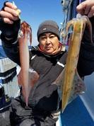 4月2日 ヤリイカ船 釣果